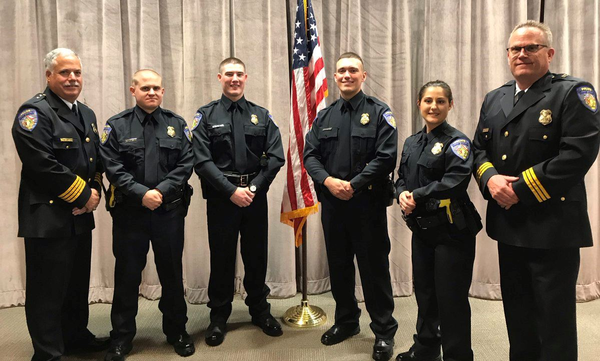 April 2019 Police Academy Graduation