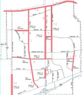 Major Street Plan Map